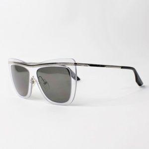 Alexander McQueen MQ 0007S Eye Sunglasses Clear